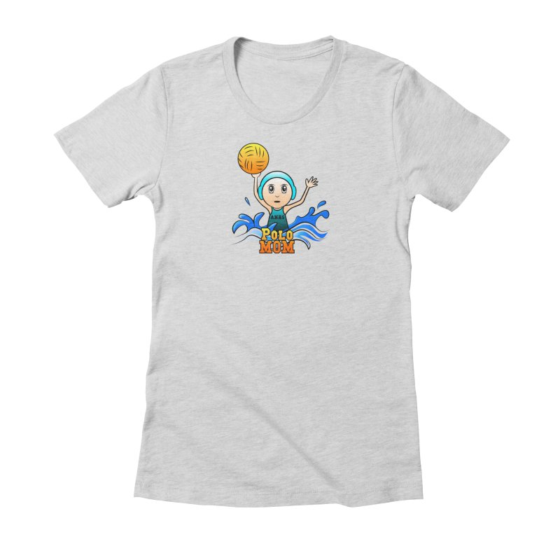 Polo_Mom_Logo Women's Fitted T-Shirt by Art of YakyArtist Shop