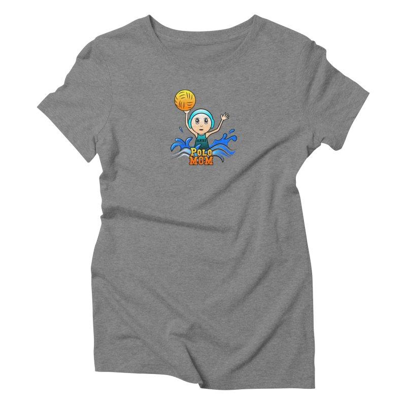 Polo_Mom_Logo Women's Triblend T-Shirt by Art of YakyArtist Shop