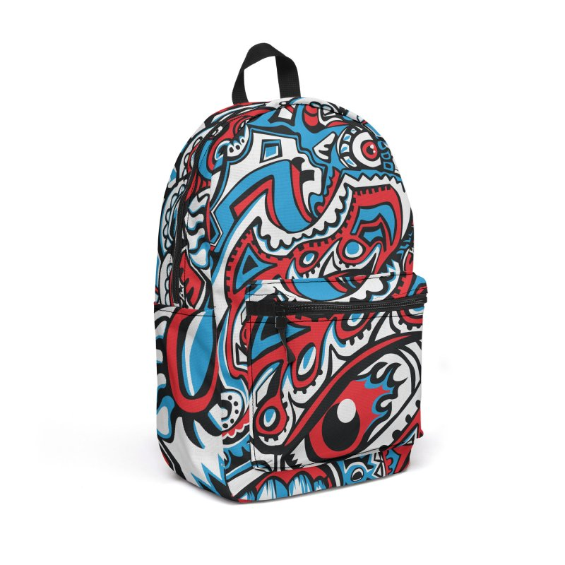 IFC_Design_A Accessories Backpack Bag by Art of Yaky Artist Shop