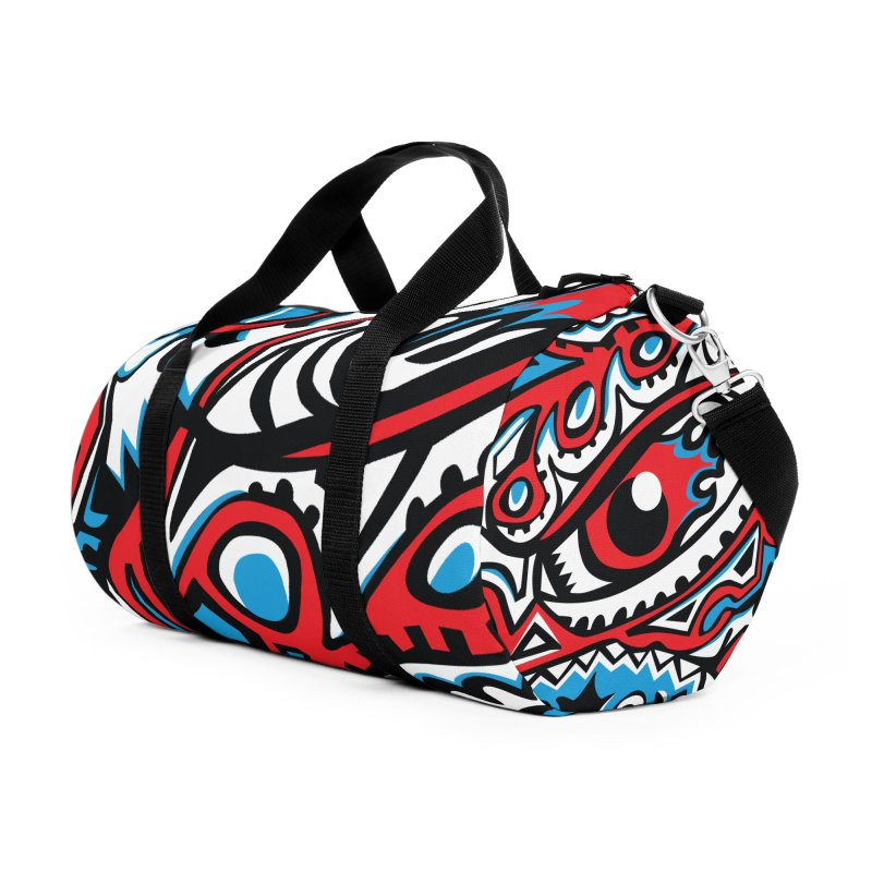IFC_Design_A Accessories Duffel Bag Bag by Art of Yaky Artist Shop