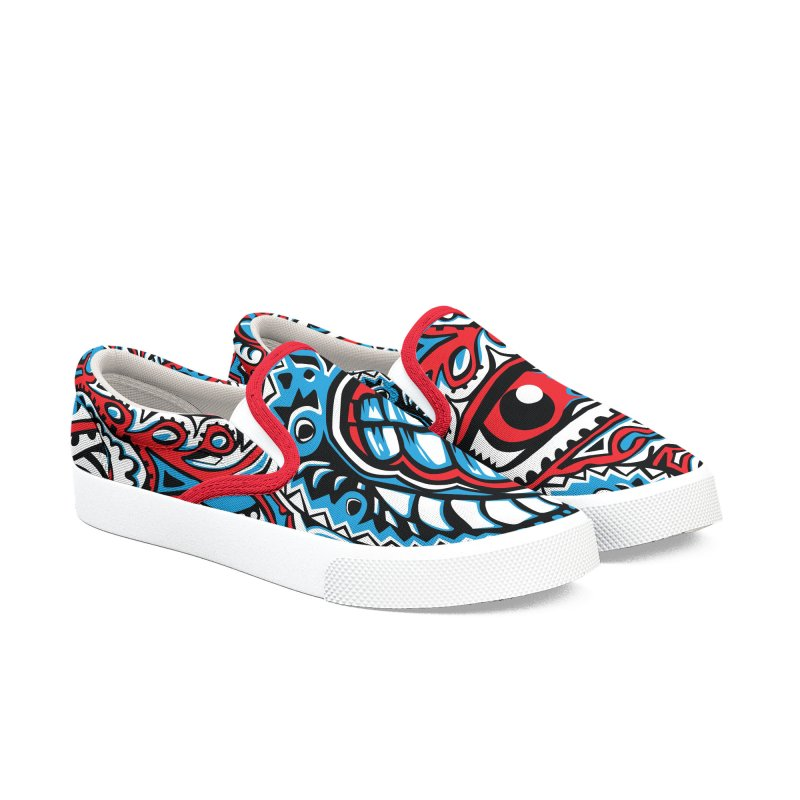 IFC_Design_A Men's Slip-On Shoes by Art of Yaky Artist Shop