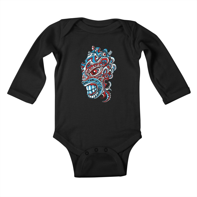 IFC_Design_A Kids Baby Longsleeve Bodysuit by Art of YakyArtist Shop