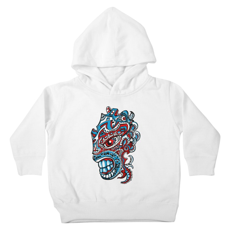 IFC_Design_A Kids Toddler Pullover Hoody by Art of YakyArtist Shop