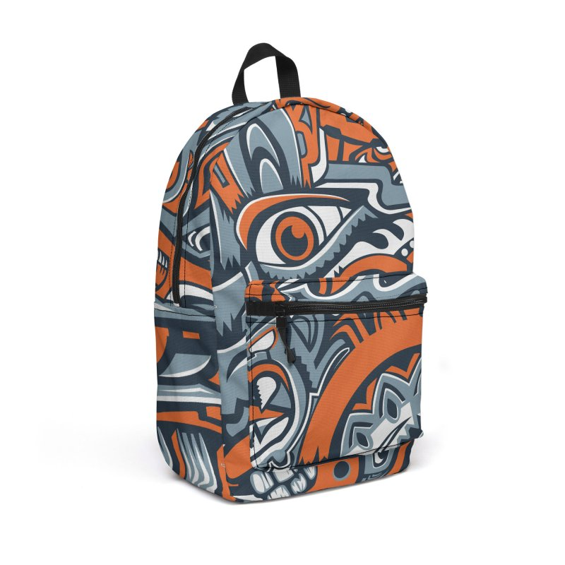 IFC_Design_B Accessories Backpack Bag by Art of Yaky Artist Shop
