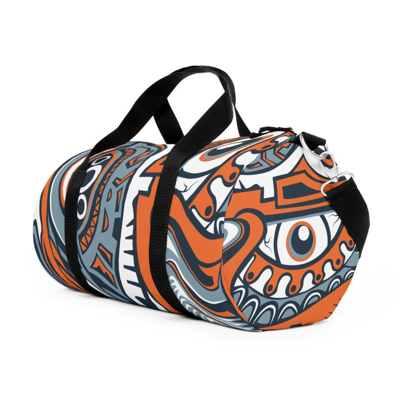 IFC_Design_B in Duffel Bag by Art of Yaky Artist Shop
