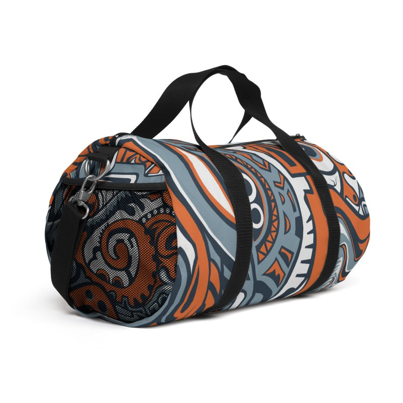 Indigenous Faces_Rain and Storms Accessories Bag by Yaky's Customs
