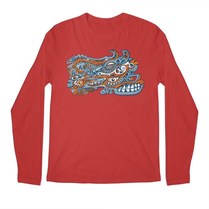 IFC_Design_B Men's Longsleeve T-Shirt by Art of Yaky Artist Shop