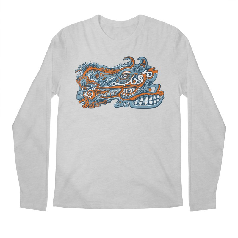 IFC_Design_B Men's Longsleeve T-Shirt by Art of Yaky Artist Shop