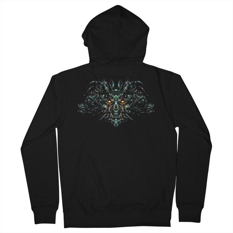 Vanished Kings T-shirt Men's French Terry Zip-Up Hoody by Art of YakyArtist Shop