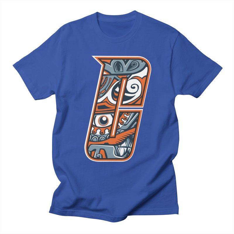 Crazy Face Alphabet (C) Men's T-Shirt by Yaky's Customs