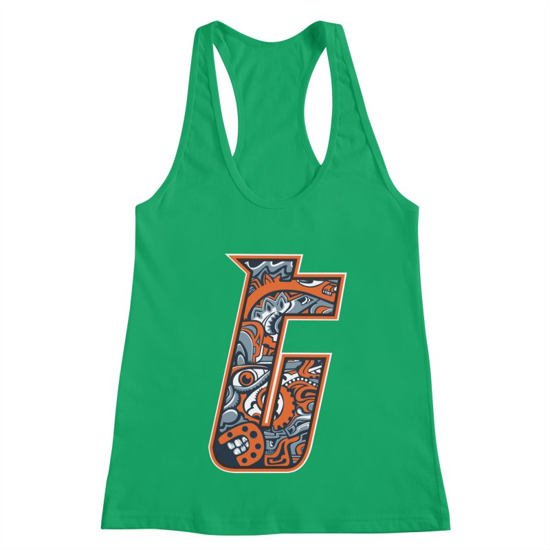 Crazy Face_T002 Women's Tank by Art of Yaky Artist Shop
