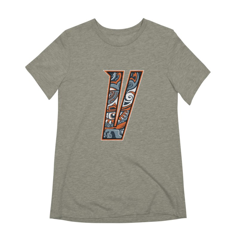 Crazy Face_V002 Women's Extra Soft T-Shirt by Art of Yaky Artist Shop