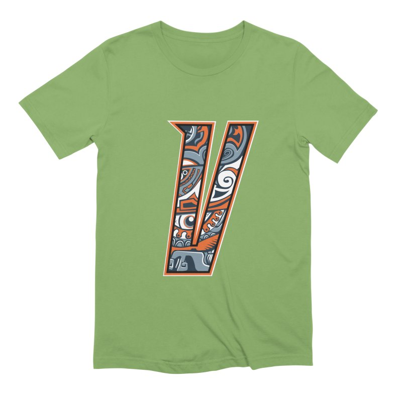 Crazy Face_V002 Men's Extra Soft T-Shirt by Art of Yaky Artist Shop