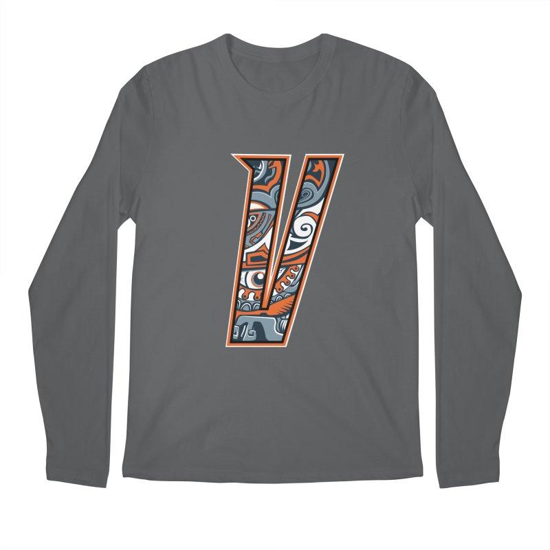 Crazy Face_V002 Men's Regular Longsleeve T-Shirt by Art of Yaky Artist Shop