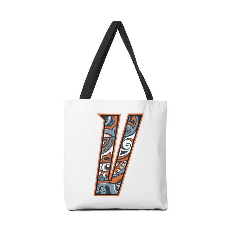 Crazy Face_V002 Accessories Tote Bag Bag by Art of Yaky Artist Shop