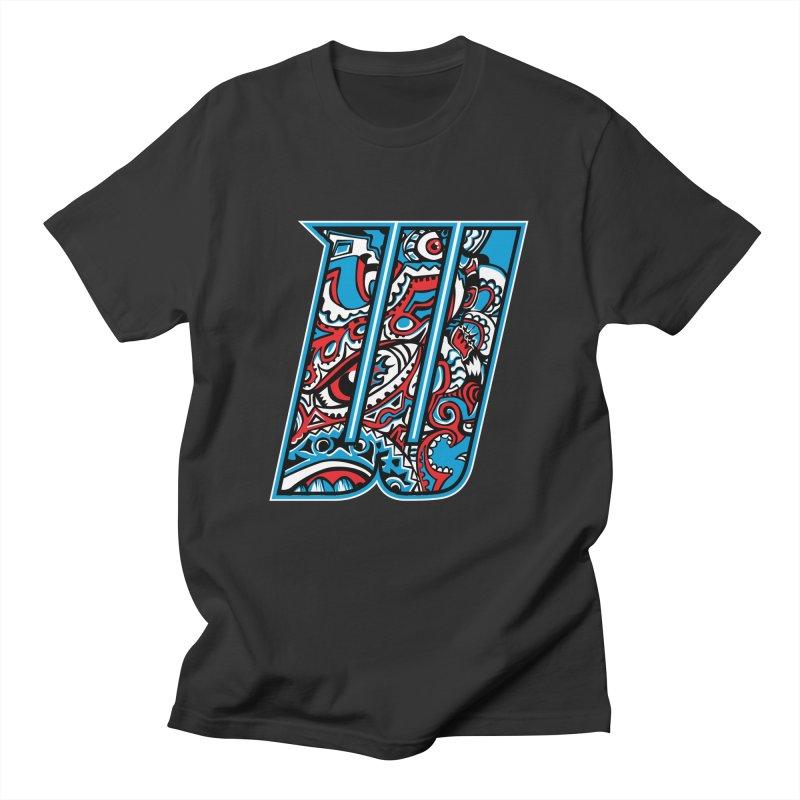 Crazy Face_W001 Women's Regular Unisex T-Shirt by Art of Yaky Artist Shop