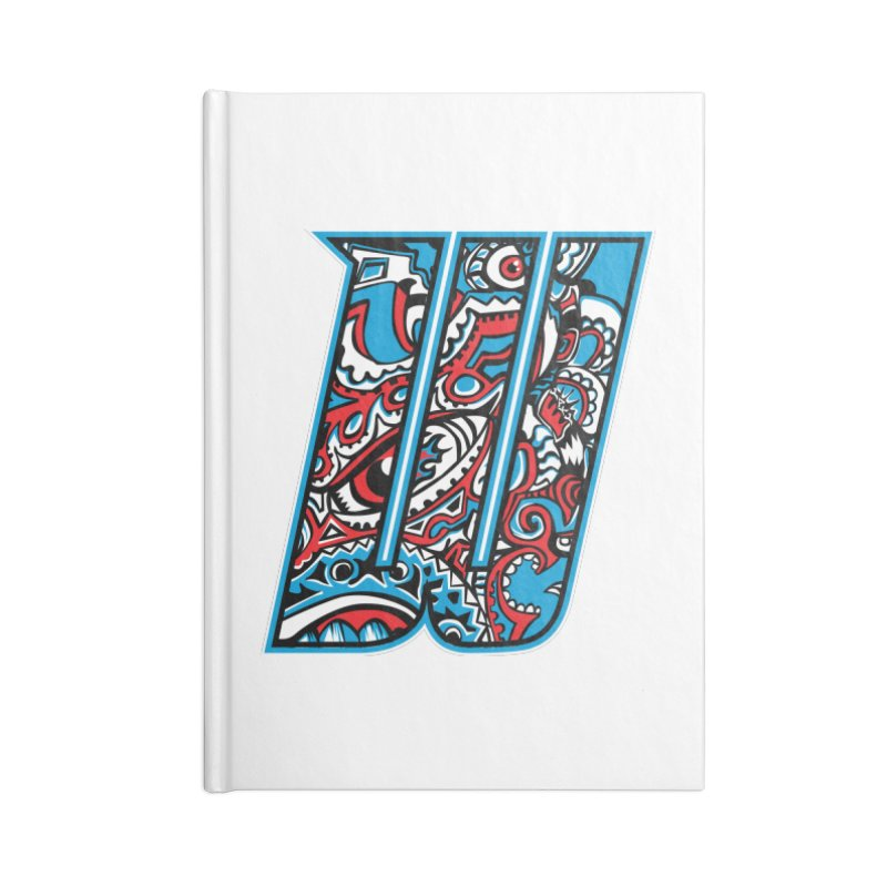 Crazy Face_W001 Accessories Notebook by Art of Yaky Artist Shop