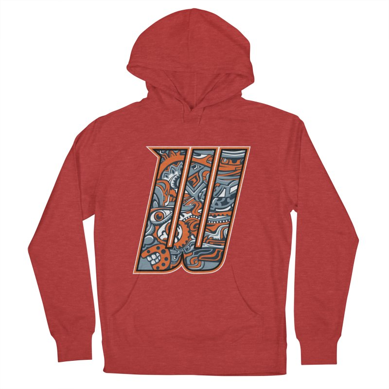 Crazy Face_W002 Men's Pullover Hoody by Art of Yaky Artist Shop