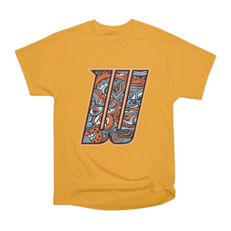 Crazy Face_W002 Men's Heavyweight T-Shirt by Art of Yaky Artist Shop