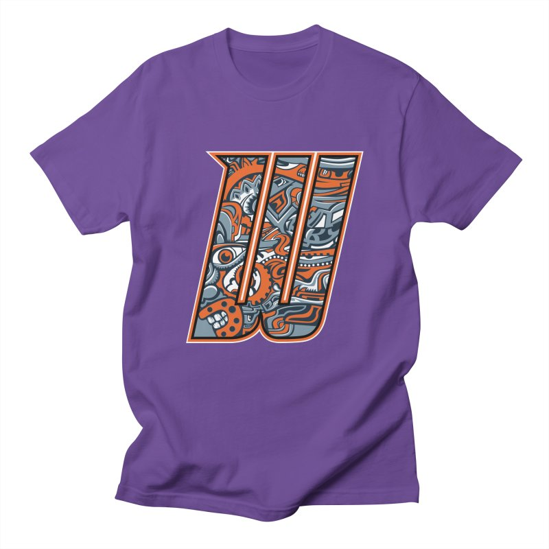 Crazy Face_W002 Women's Regular Unisex T-Shirt by Art of Yaky Artist Shop