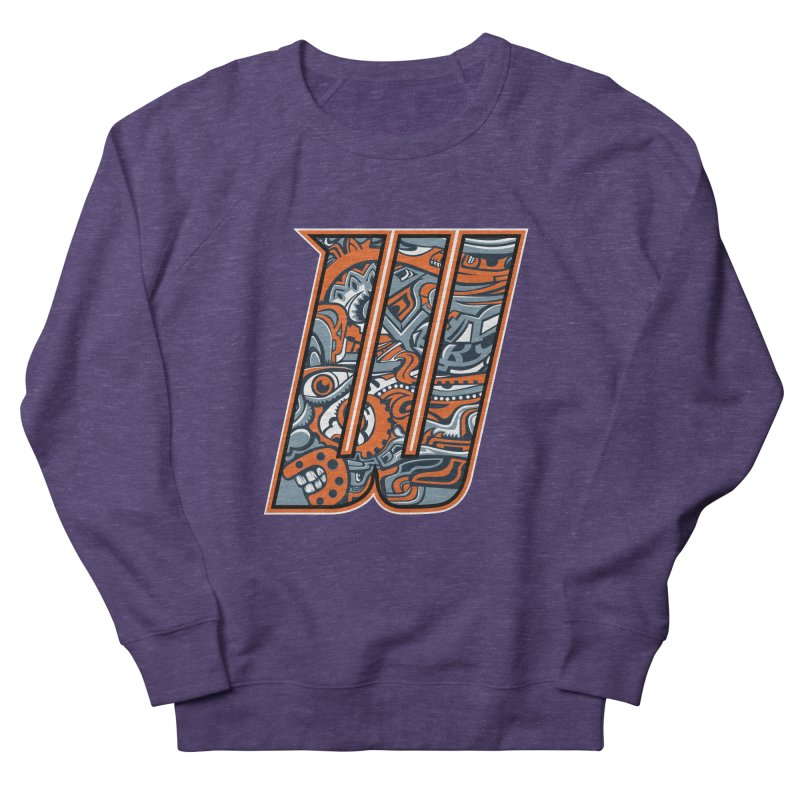 Crazy Face_W002 Men's French Terry Sweatshirt by Art of Yaky Artist Shop