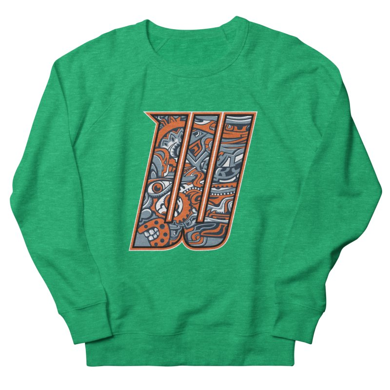 Crazy Face_W002 Men's Sweatshirt by Art of Yaky Artist Shop