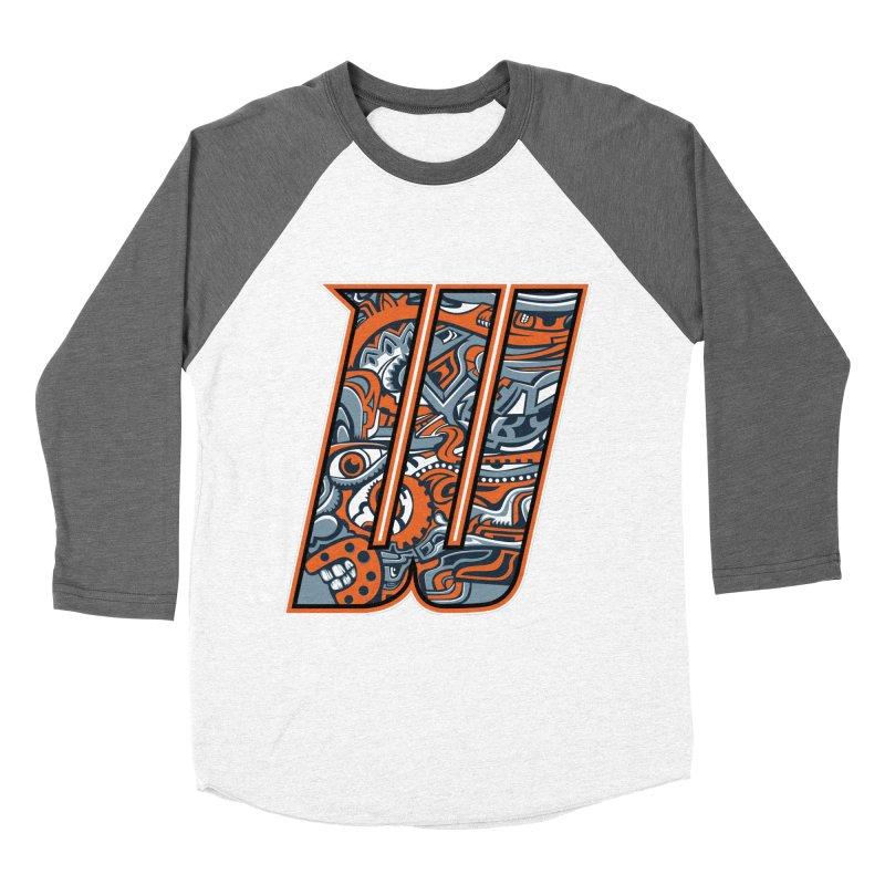 Crazy Face_W002 Women's Longsleeve T-Shirt by Art of Yaky Artist Shop