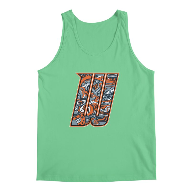 Crazy Face_W002 Men's Regular Tank by Art of Yaky Artist Shop