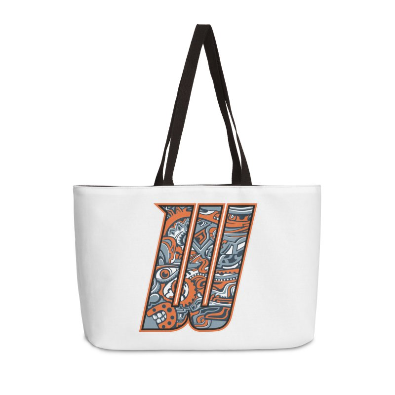 Crazy Face_W002 Accessories Weekender Bag Bag by Art of Yaky Artist Shop