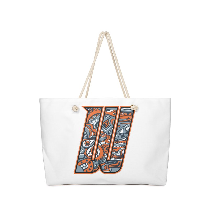 Crazy Face_W002 Accessories Bag by Art of Yaky Artist Shop