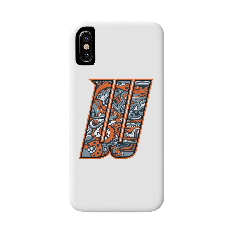 Crazy Face_W002 Accessories Phone Case by Art of Yaky Artist Shop