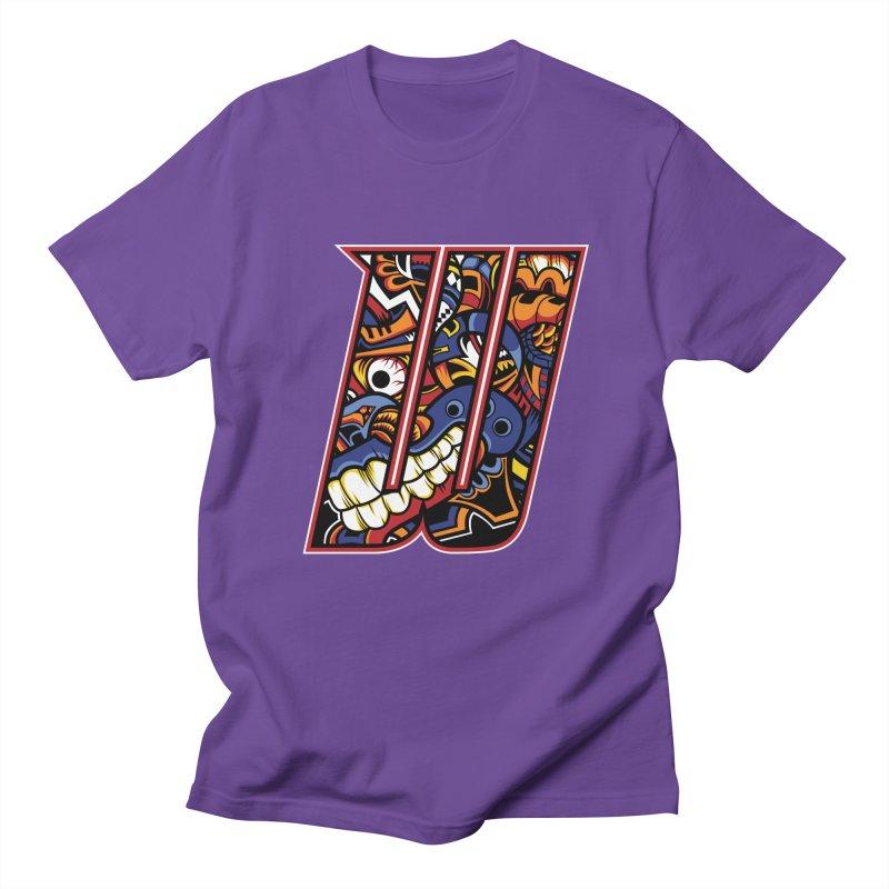 Crazy Face_W003 Women's Regular Unisex T-Shirt by Art of Yaky Artist Shop