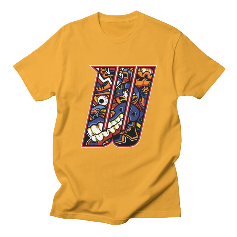 Crazy Face_W003 Men's T-Shirt by Art of Yaky Artist Shop