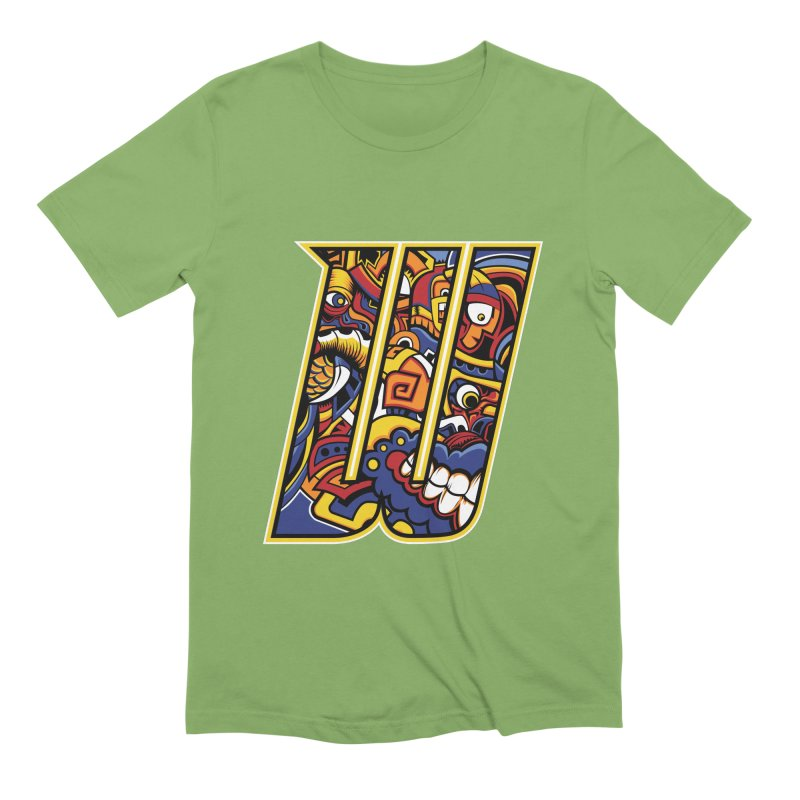 Crazy Face_W004 Men's Extra Soft T-Shirt by Art of Yaky Artist Shop