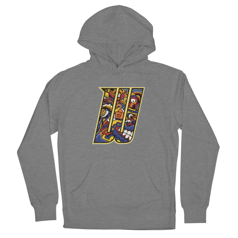 Crazy Face Alphabet (W) Women's Pullover Hoody by Yaky's Customs