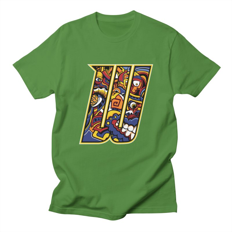 Crazy Face_W004 Men's T-Shirt by Art of Yaky Artist Shop