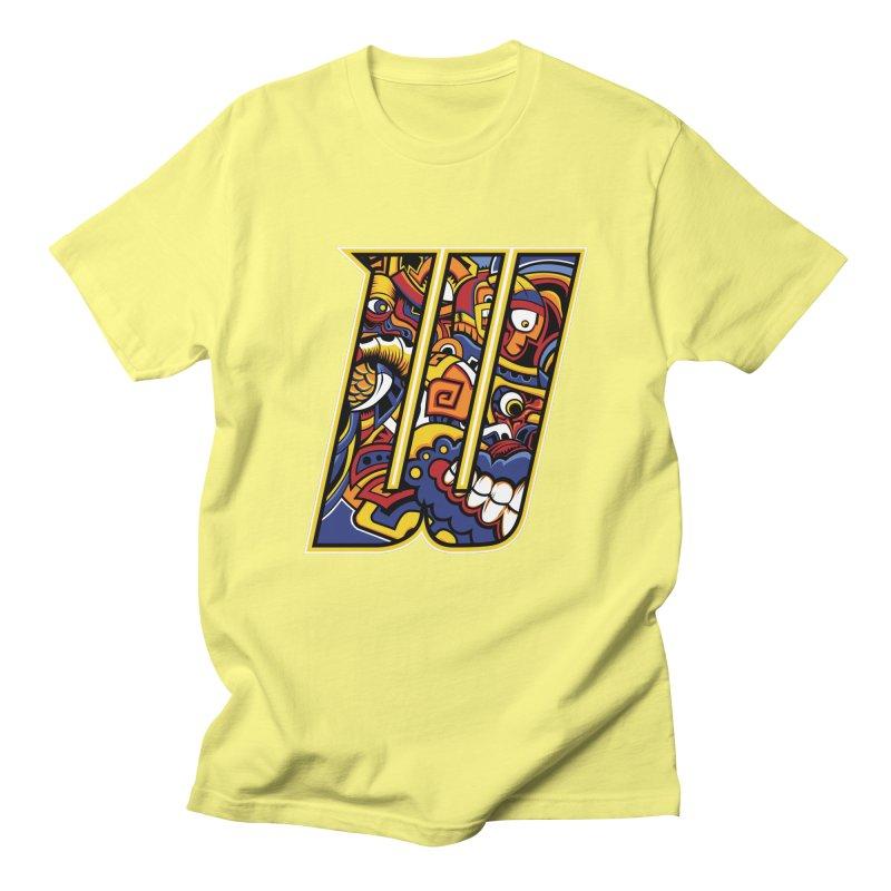 Crazy Face_W004 Women's Regular Unisex T-Shirt by Art of Yaky Artist Shop
