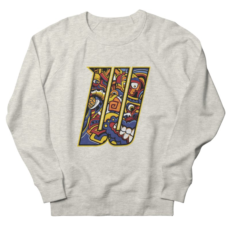 Crazy Face_W004 Men's French Terry Sweatshirt by Art of Yaky Artist Shop
