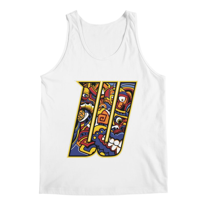 Crazy Face_W004 Men's Tank by Art of Yaky Artist Shop