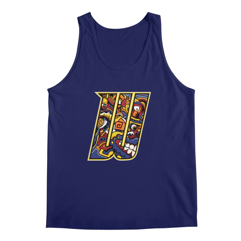 Crazy Face_W004 Men's Regular Tank by Art of Yaky Artist Shop