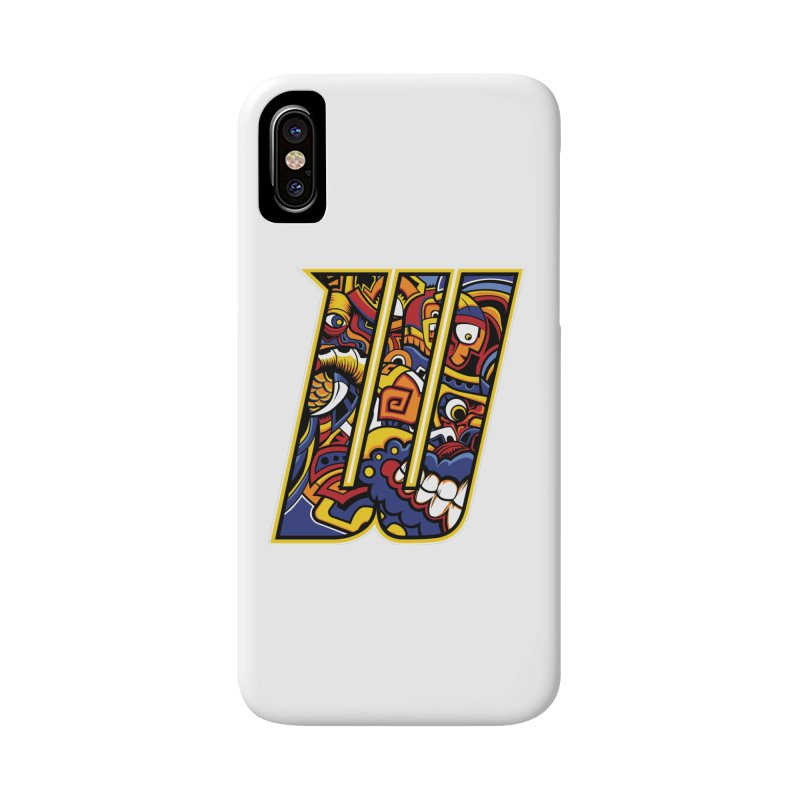 Crazy Face_W004 Accessories Phone Case by Art of Yaky Artist Shop