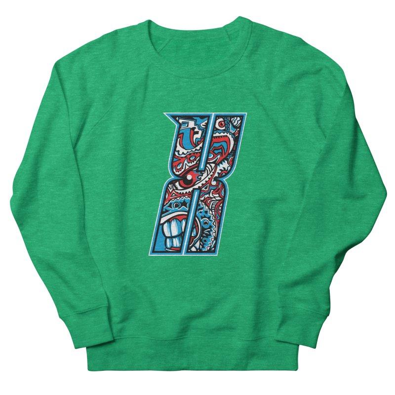Crazy Face_X001 Women's Sweatshirt by Art of Yaky Artist Shop
