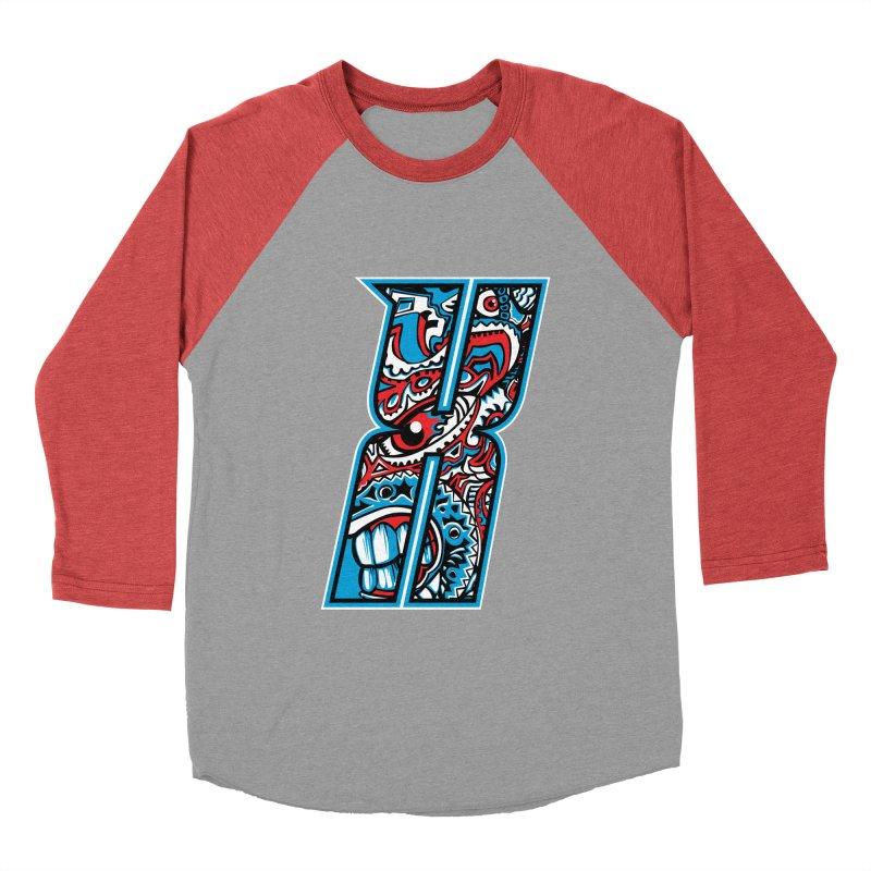 Crazy Face_X001 Men's Longsleeve T-Shirt by Art of Yaky Artist Shop