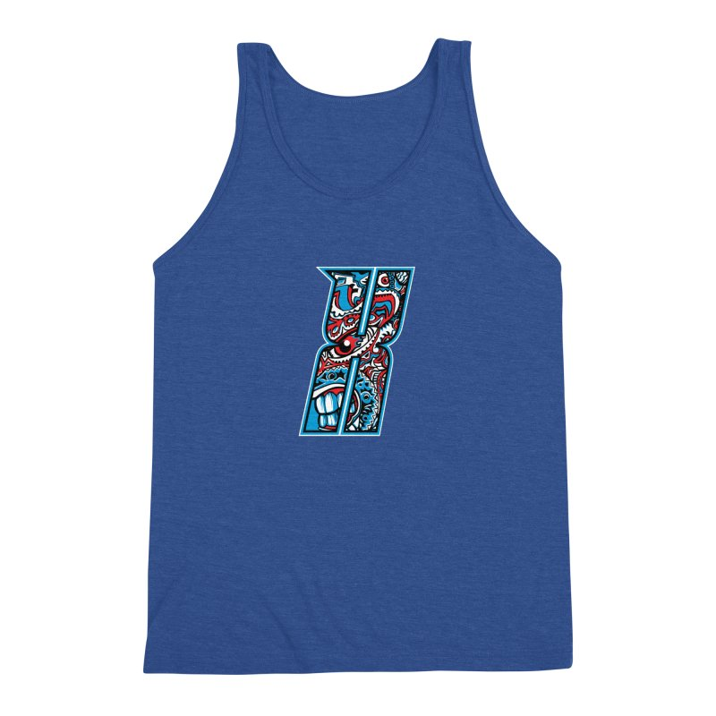 Crazy Face_X001 Men's Tank by Art of Yaky Artist Shop