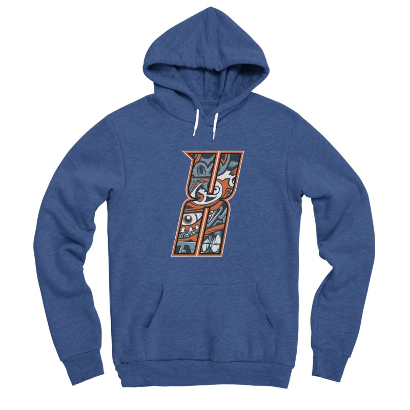 Crazy Face Alphabet (X) Men's Pullover Hoody by Yaky's Customs
