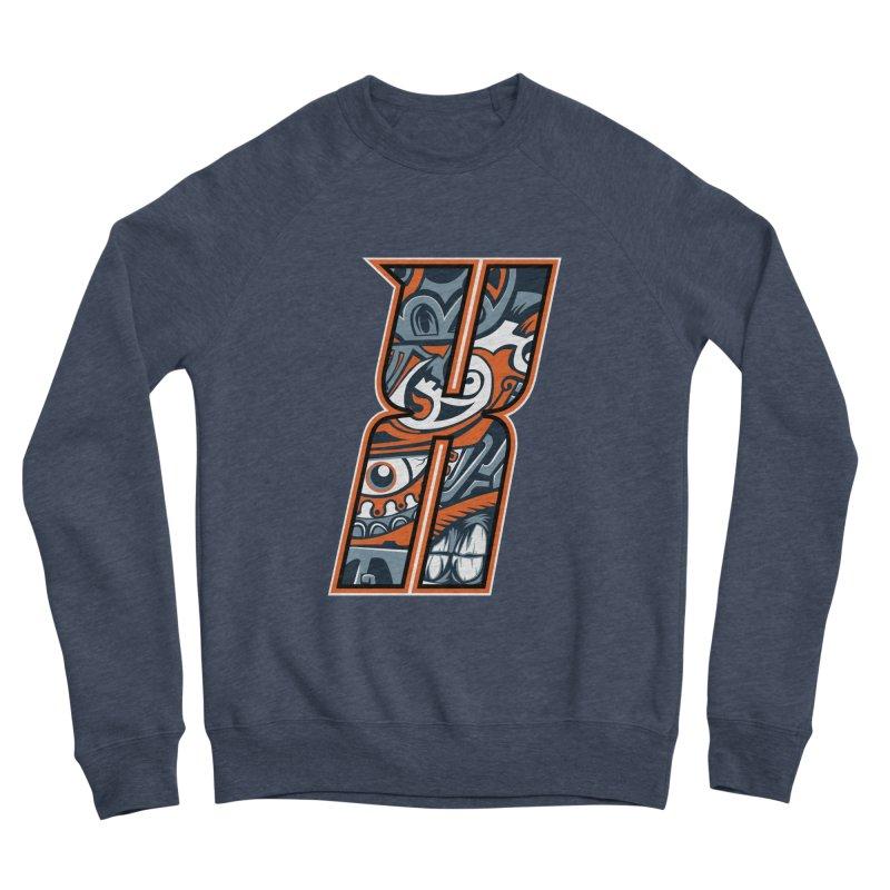 Crazy Face Alphabet (X) Men's Sweatshirt by Yaky's Customs