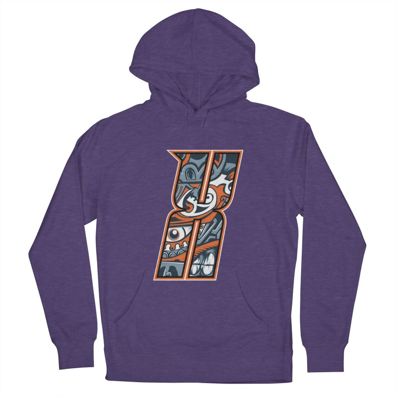 Crazy Face_X002 Women's Pullover Hoody by Art of Yaky Artist Shop