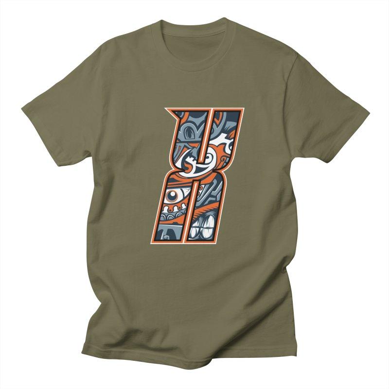 Crazy Face_X002 Women's Regular Unisex T-Shirt by Art of Yaky Artist Shop