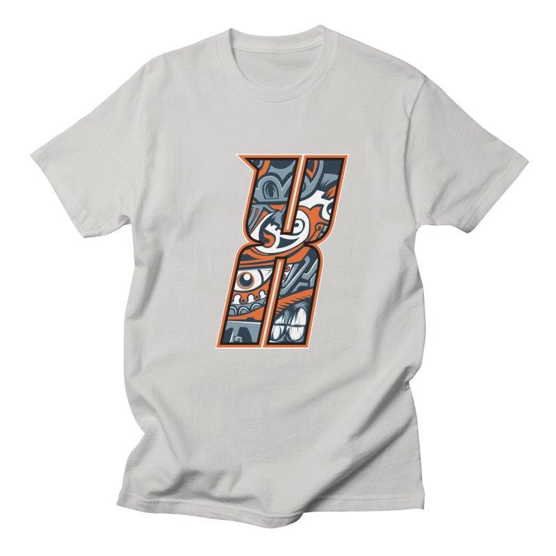 Crazy Face_X002 Men's T-Shirt by Art of Yaky Artist Shop