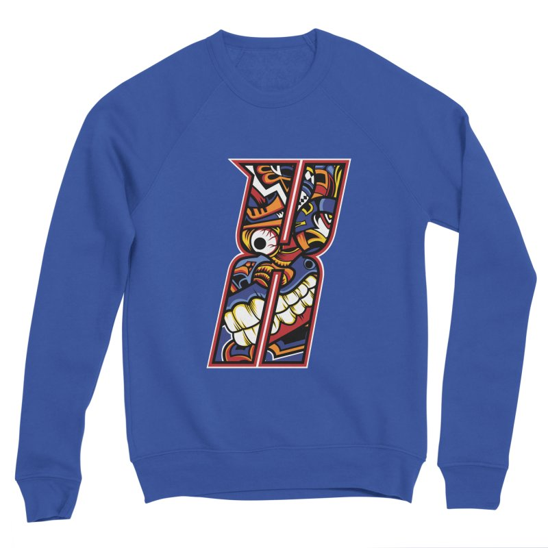 Crazy Face Alphabet (X) Women's Sweatshirt by Yaky's Customs